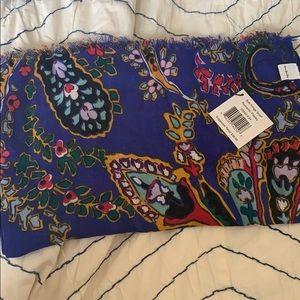 Vera Bradley scarf Romantic Paisly NWT